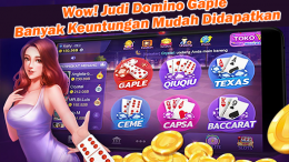 Judi domino gaple